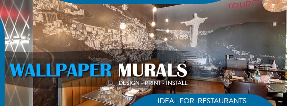 restaurant murals Toronto