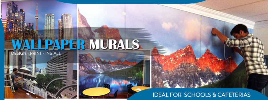 wallpaper murals in toronto we install in the gta