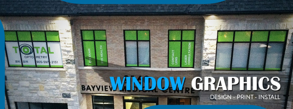 window graphics toronto
