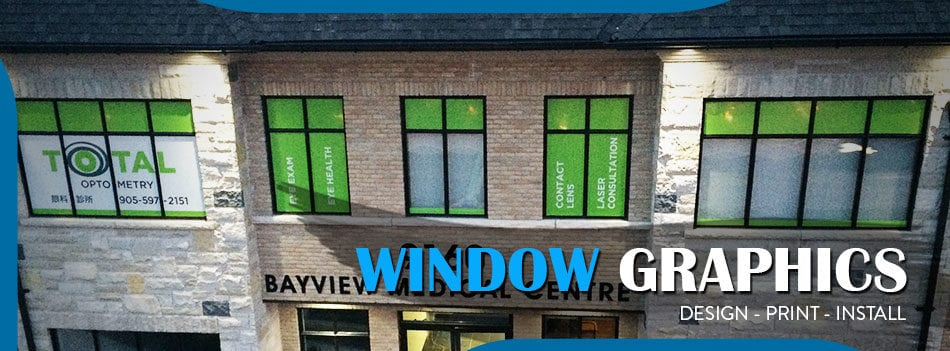 window graphics toronto