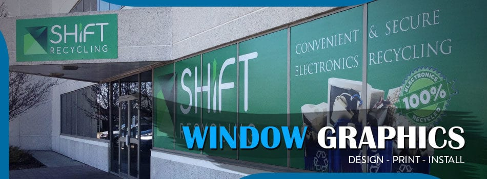 perforated window graphics toronto
